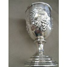 Mid 19c American Coin silver Goblet