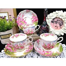ROYAL ALBERT tea cup and saucer Blossom time pattern teacup pink tree blossom