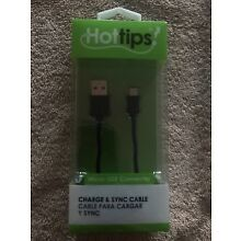 Brand New in Packaging! Hot Tips Micro USB to USB Charge and Sync Cable