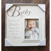 NEW IN BOX Malden Picture Frame New Baby Shower Baptism Christening Baby 5x7