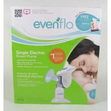 Evenflo Single Lightweight Electric Breast Pump Comfortable Breastfeeding
