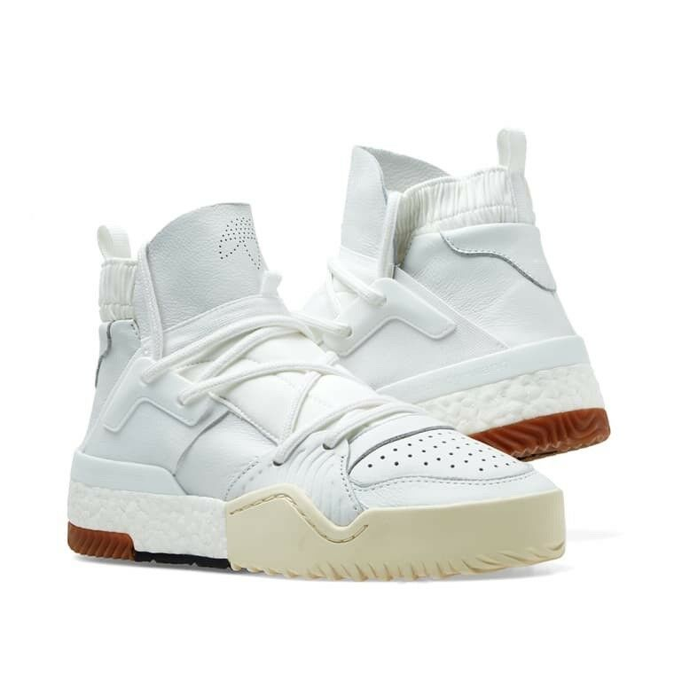 new product 86020 9521f Details about adidas Originals by ALEXANDER WANG AW BBall White