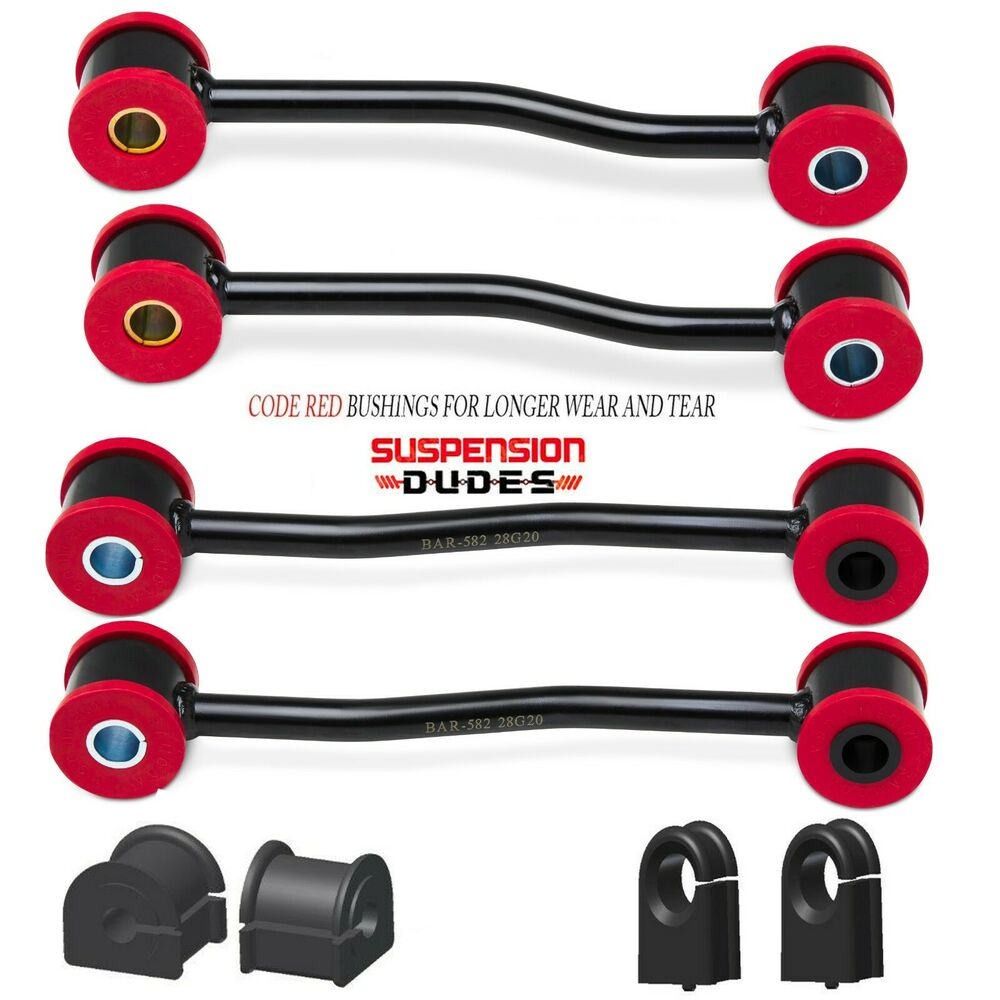 Front /& Rear Sway Bar Links 4Pc 1999-2004 Jeep Grand Cherokee K3201 K3202 4WD