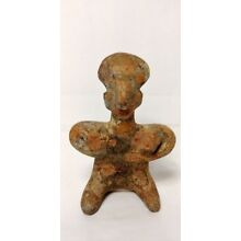 Pre-Columbian Nayarit figure From Mexico. CA. 400 bc.