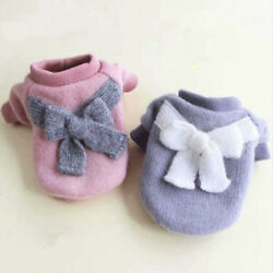 Cute Winter Warm Dog Clothes Sweater Pet Coat For Puppy Small Medium Dog Jacket