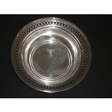 TIFFANY & CO STERLING SILVER PIERCED SERVING BOWL 925-1000