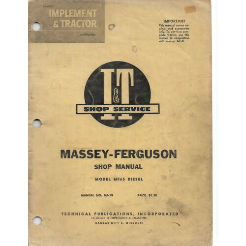 mf13-it-service-shop-manual-for-massey-ferguson-model-mf65-diesel-tractors-