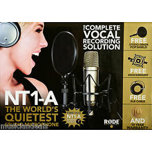 Rode NT1-A Condenser Microphone Anniversary Bundle NEW
