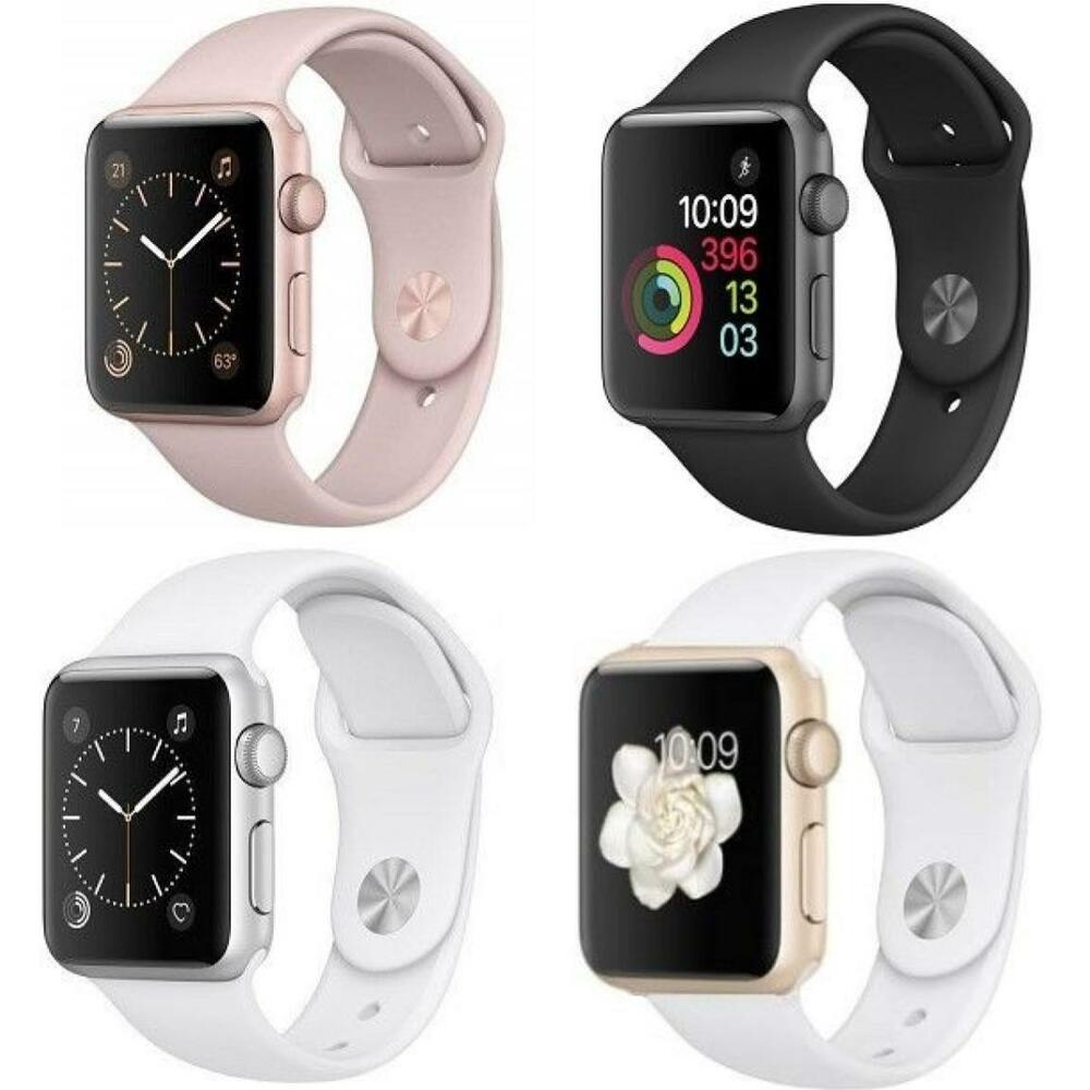 apple watch series 2 38mm 42mm aluminum case all colors apple smartwatch ebay