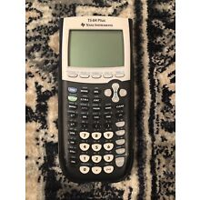 Texas Instruments TI-84 Plus Graphing Calculator Great Condition