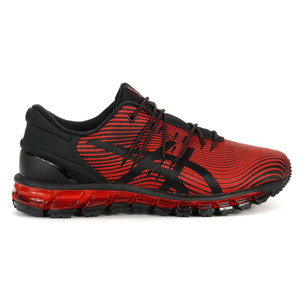 quality design 4ce9f ccb91 Details about ASICS Men s Gel-Quantum 360 4 Red Alert Black Running Shoes  1021A028.600 NEW!