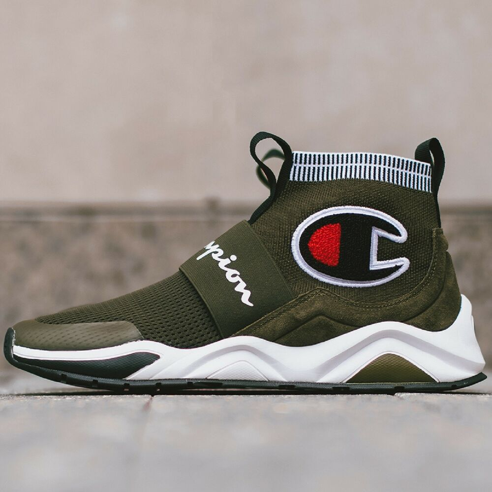 6a219ca5396 Details about Champion Rally Pro Hiker Green Men s Sneaker Lifestyle Shoes