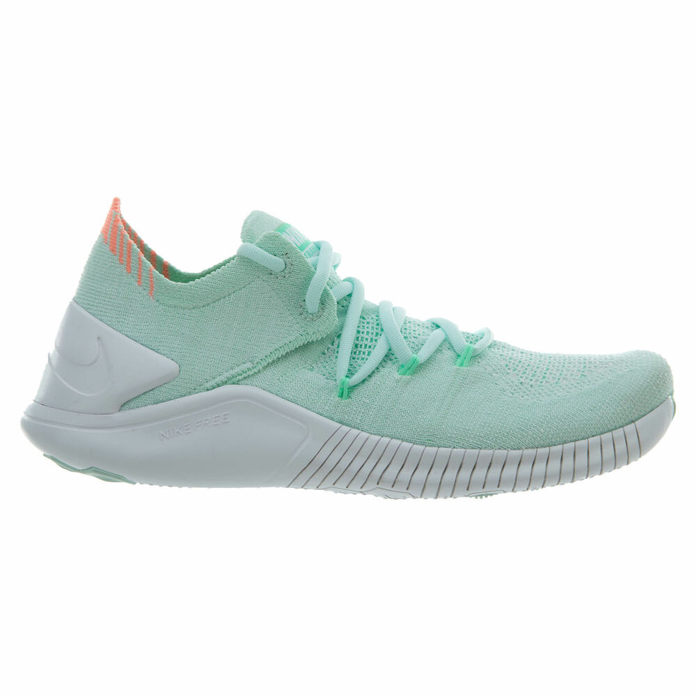 separation shoes e897e 689d4 Details about Womens Nike Free TR Flyknit 3 Running Shoes Mint Green White  942887 301 Trainer