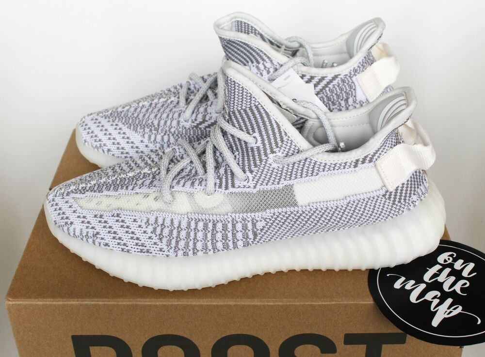 cd4cb8127ae19 Adidas Yeezy Boost 350 V2 Static Non Reflective UK 3 4 5 6 7 8 9 10 11 12  13 14