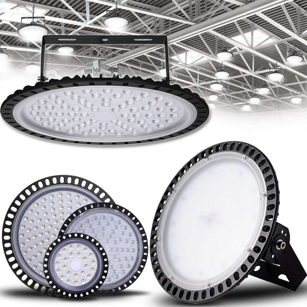 3x 300w Ufo Led High Low Bay Light Factory Warehouse: UFO LED High Bay Light 500W 300W 200W 150W 100W 50W