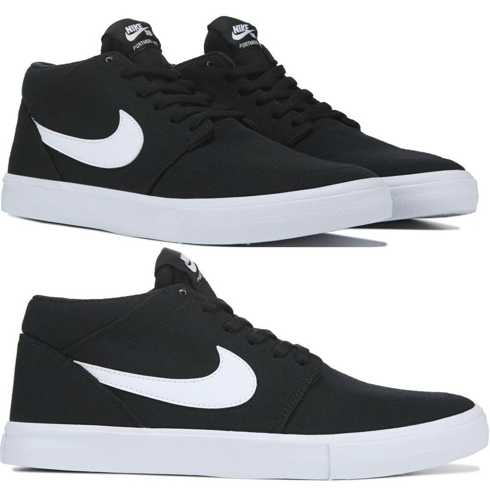 Details about Nike SB Solarsoft Portmore II Mid Top Skate Shoe Men s  Ultralight Comfy Sneakers 56688a144