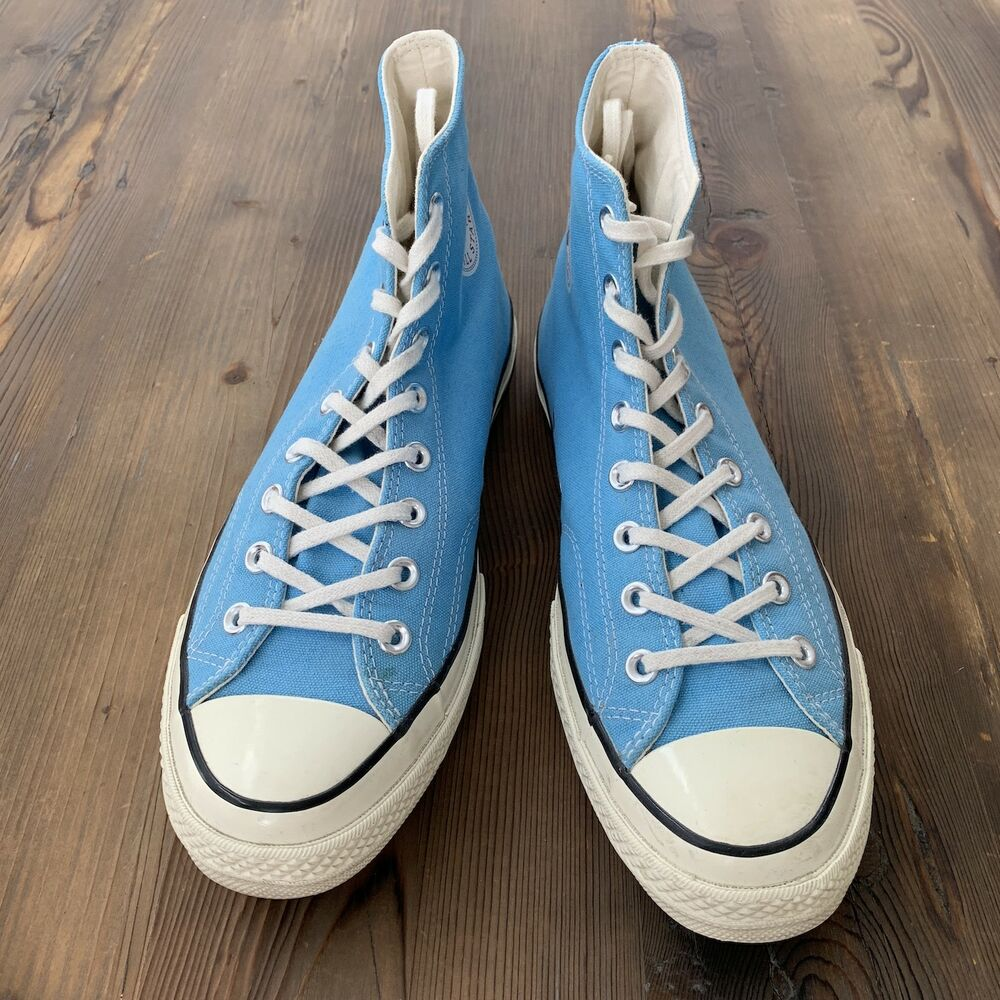 75547db19d5a Details about Converse Chuck Taylor All Star 70 High Heritage Blue 142335C  Men s 11 Women s 13