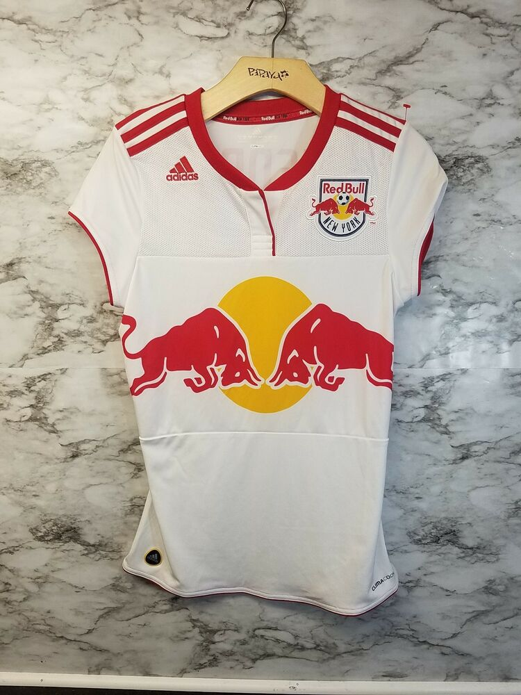 525414fef Details about Adidas Thierry Henry Women s New York Red Bulls MLS Soccer  Jersey Medium  23