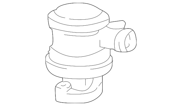 Genuine Volvo Check Valve 9125623