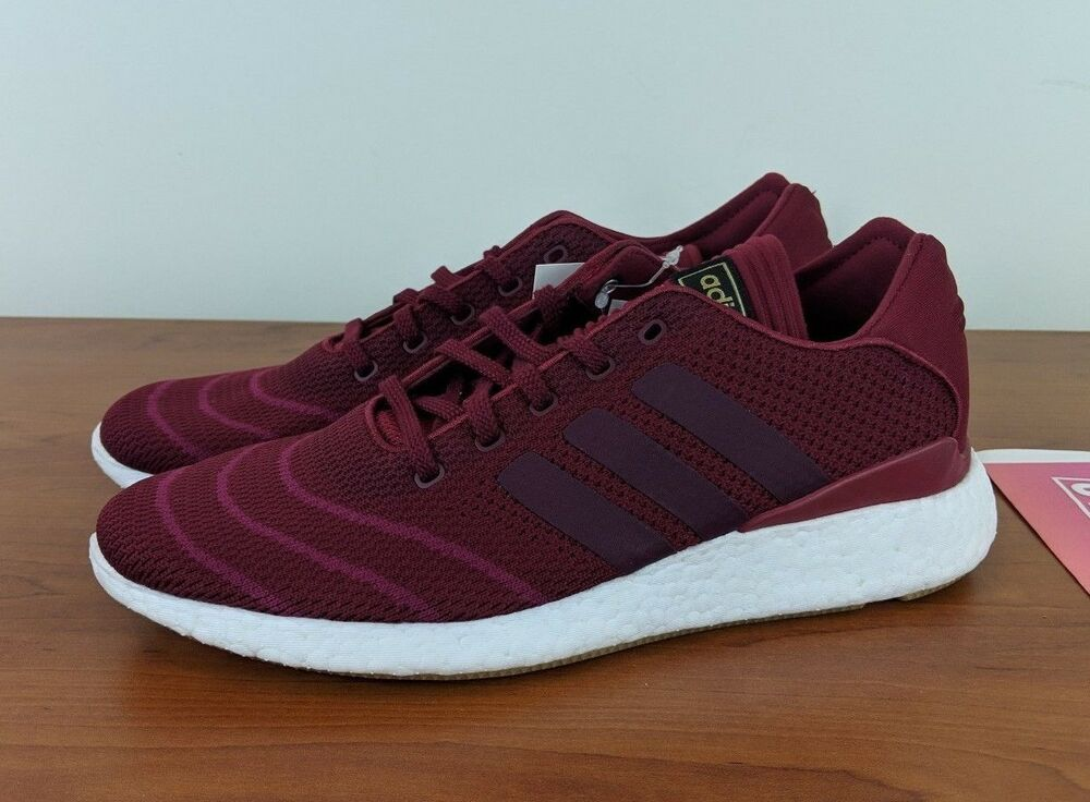 Details about Adidas Busenitz Pure Boost PK Men s Running Training Shoes  Red CQ1159 Size 9.5 69e953fd1