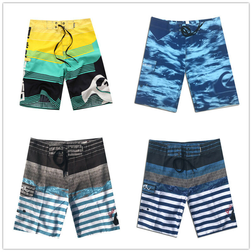 5b8ef75aea59d Details about Casual Mens Plus Size Quick-Dry Beach Pants Boardshorts Surf  Shorts Size 30-44