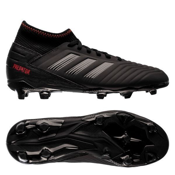 2fcddc78b Details about adidas Predator 19.3 FG 2018 Soccer Cleats Shoes Kids - Youth  Archetic Black