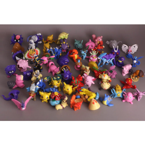 Pokemon Figures  - Medium Size lot of 20 different figurines 2 Inches