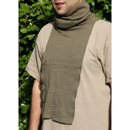 img-DUTCH ARMY SNOOD OLIVE GREEN SCARF HEAD COVER WINTER WARM TUBE MILITARY HOOD