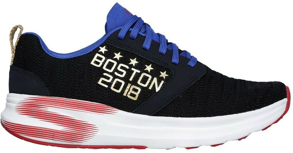e51b0c7b1e7 Skechers 55039 NVY Go Run Ride 7 Boston Marathon 2018 Navy Men s Training  Shoes