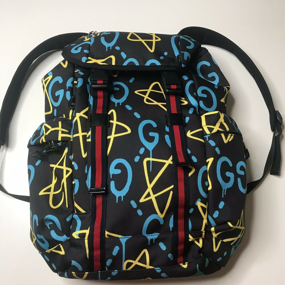 37a8bc6ed14a4b Details about Gucci Ghost Backpack