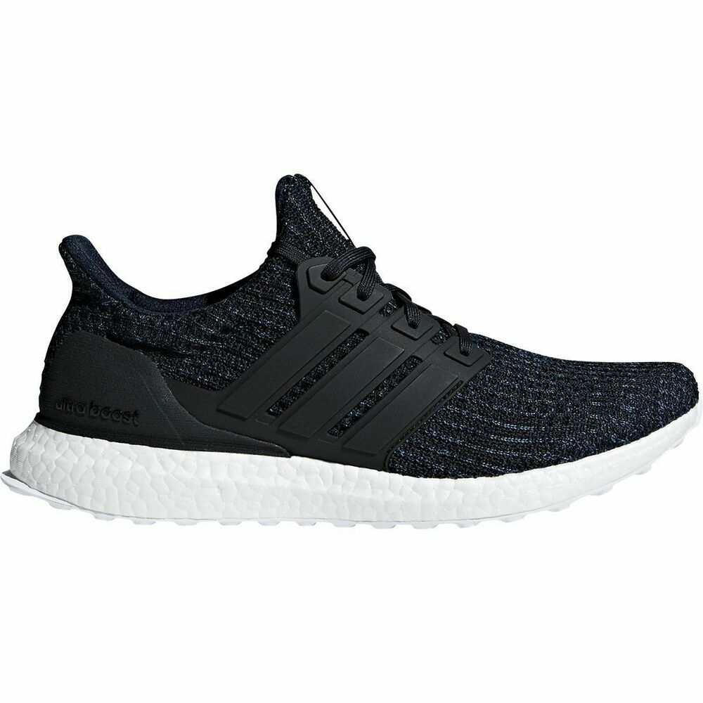 3c385721434 Details about Adidas UltraBOOST Parley Running Shoes Deep Ocean Blue Black  AC7836 Men s NEW