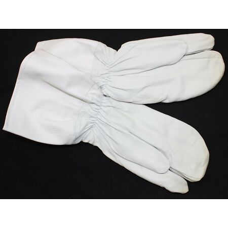 img-DDR EAST GERMAN ARMY GLOVES / TRIGGER MITTS in WHITE