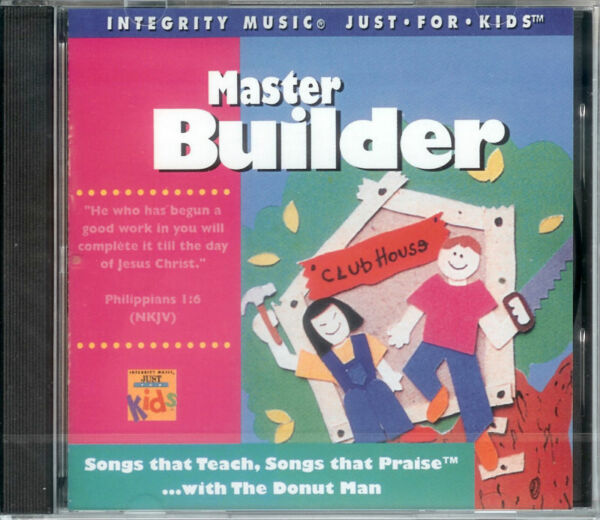 Master Builder - the Donut Man - NIB Kid's Music CD