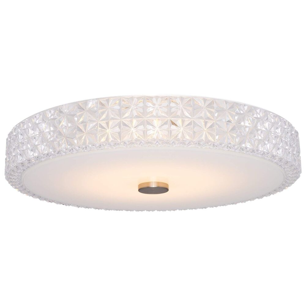 Details About Kira Home Maxine 15 Modern Semi Flush Ceiling Light 18w Integrated Led Cle
