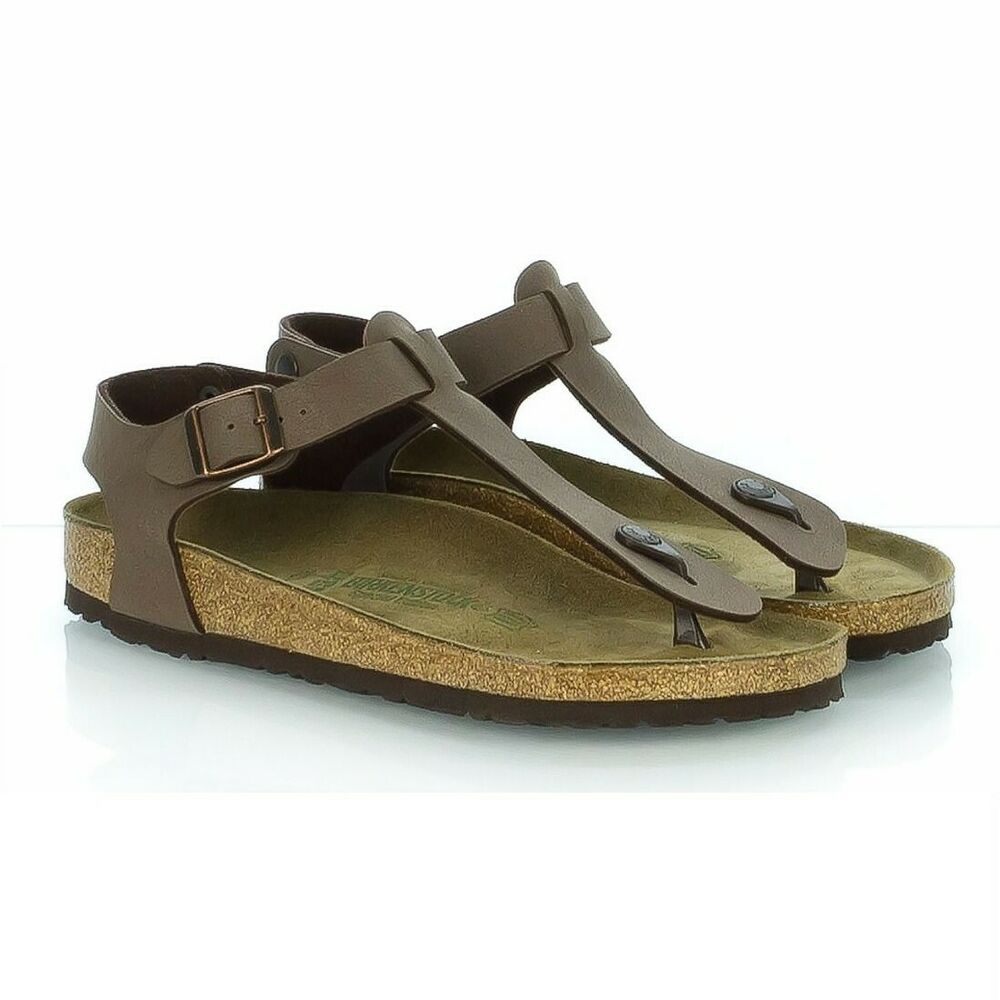 3e8f94d82843 Details about BIRKENSTOCK KAIRO UNISEX SANDALS LACED AT THE ANKLE MOCHA