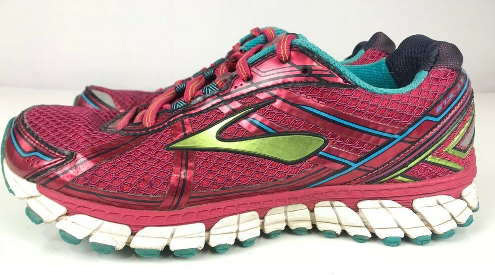 85f5a54a600d6 Details about Brooks GTS 15 Adrenaline Sneakers Running Trail Athletic  Multicolored Womens 8B