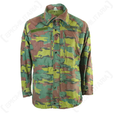 img-Original Belgian Army M90 Jacket - Genuine Military Surplus Jigsaw Coat Issued