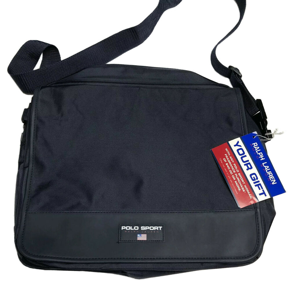 32219fea28 Details about polo sport crossbody messenger bag navy blue logo ralph lauren  jpg 1000x1000 Canvas polo