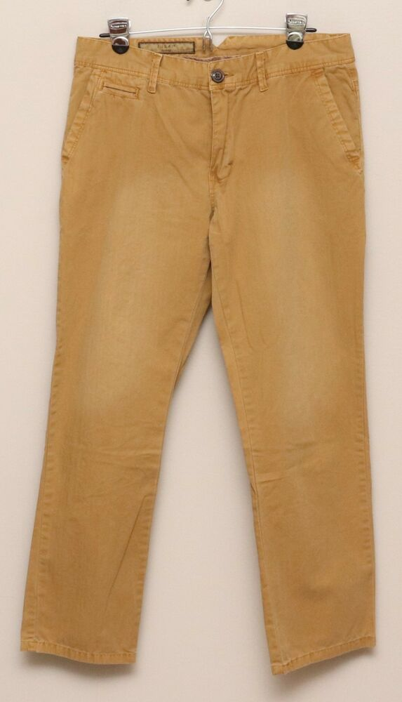 Tan Men's Clothing Responsible Mens Size 44 Eddie Bauer Slacks Great Condition