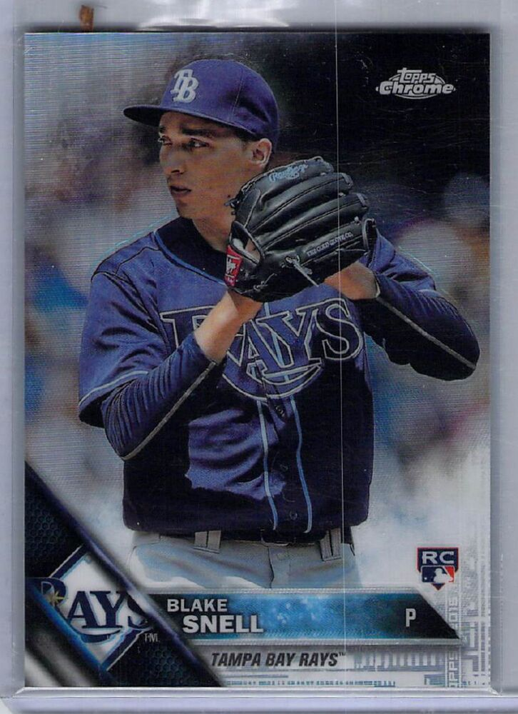 2016 Topps Chrome Holiday Retail Only #HMT26 Blake Snell RC Refractor /250  SP!! | eBay