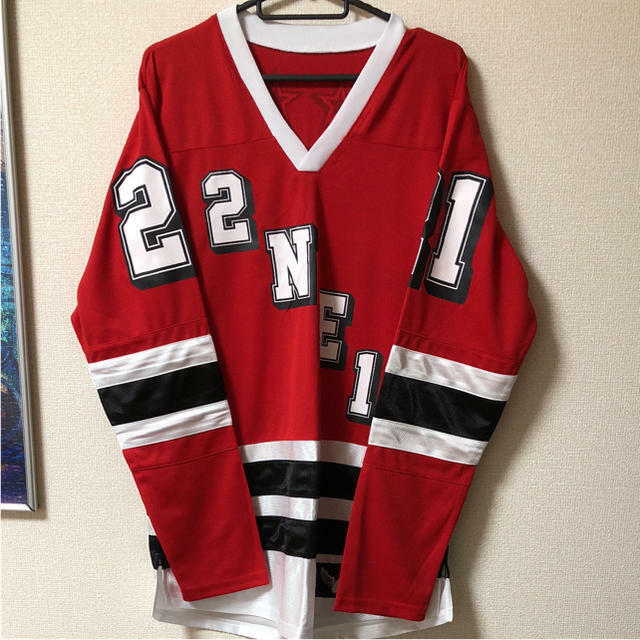 Details about YG Family World tour 2014 2NE1 Hockey jersey Store limited  Rare 2ccf4921e49