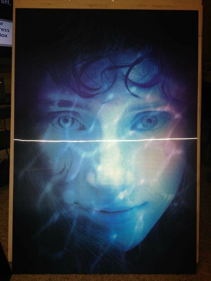 6043b659bf8ee Details about LENTICULAR - Lady In The Water - 3D Movie Poster 27x40  Hologram.
