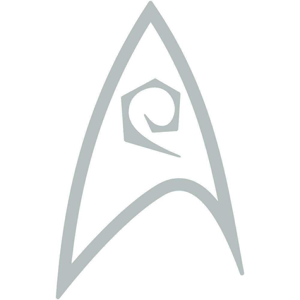 Star Trek Engineering Fleet Insignia Badge 5 Vinyl Decal Car