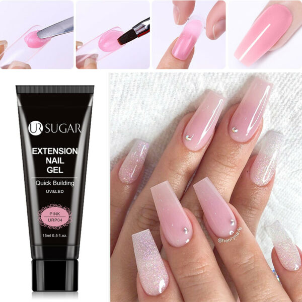 LILYCUTE Quick Extension UV Gel Nail Art Semi Permanent Vernis à ongles Tools