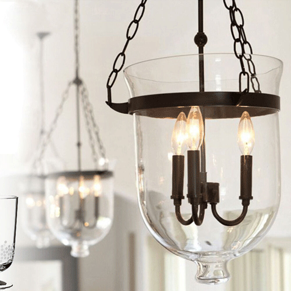Glass Pendant Light NEW Gothic Bar Lamp Modern Ceiling