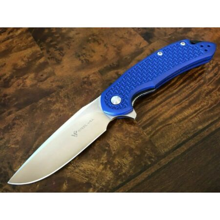 img-Couteau Steel Will Cutjack C22-1BL Lame Acier D2 Manche Blue FRN SMGC221BL