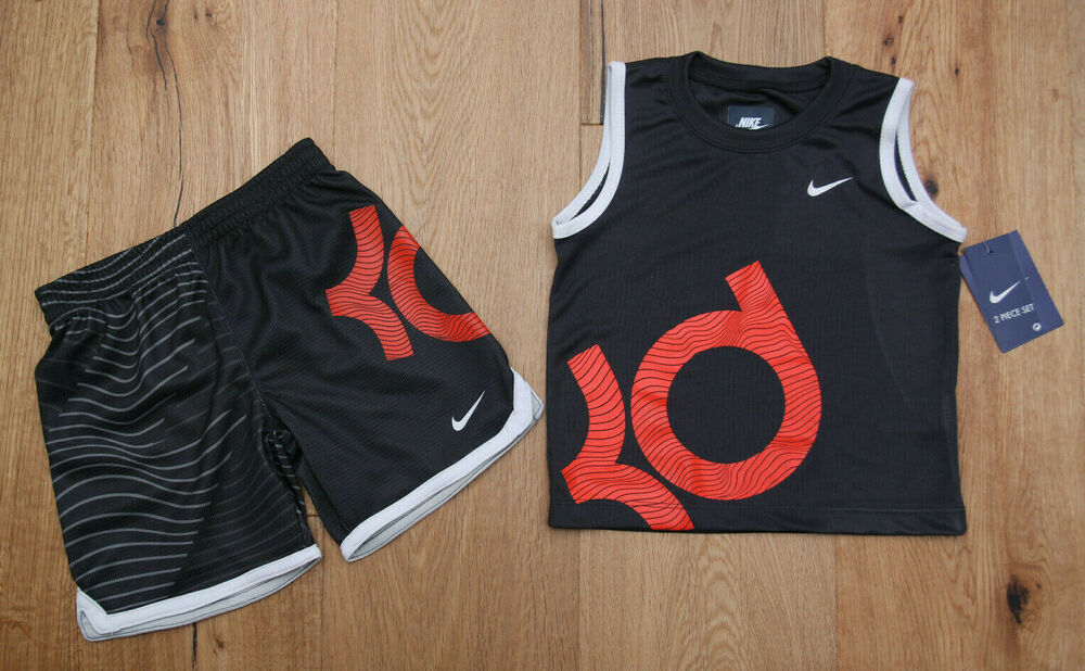 6b308acd09c Details about Nike Baby Boy 2 Piece Tank   Shorts Set ~ KD ~Kevin Durant  ~Gray