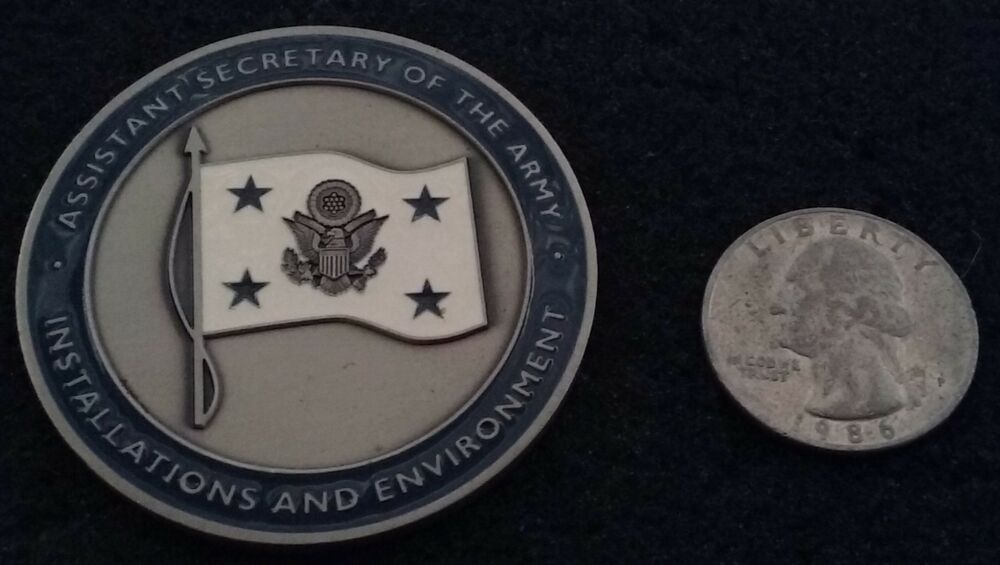 AUTHENTIC General Assist Secretary of the Army SecArmy Engineer Challenge  Coin | eBay