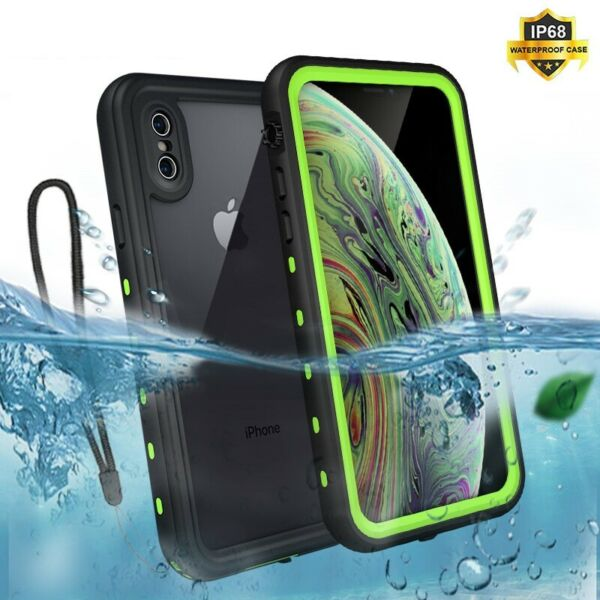 IP68 Waterproof Shockproof Swimming Diving Case For Apple iphone 11 Pro MAX XR X