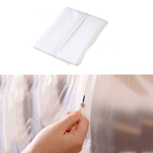 Dustproof Clothes Hanging Garment Suit Coat Cover Protect Wardrobe Storage Bags